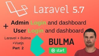 Laravel redirect after login to Admin or User page Part 2