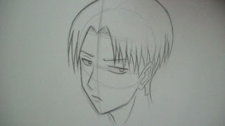 How To Draw Rivaille (Shingeki no Kyojin)
