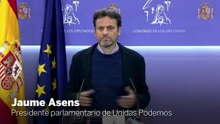 Las declaraciones de Jaume Asens en el Congreso