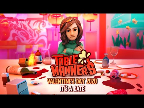 Table Manners | Steam Date Reveal Trailer | Out Valentine's 2020
