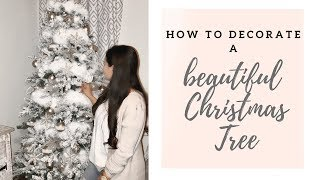 Decorate With Me Christmas Tree Decorating Tips