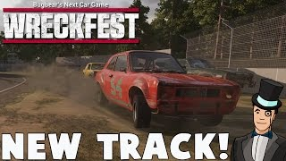 Wreckfest Gameplay - BRAND NEW TRACK - Next Car Game Update