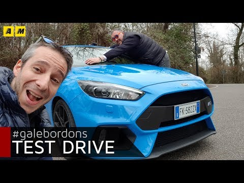 Ford Focus RS   Ovali, ovali, ovali e tanto divertimento