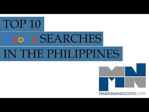 Top 10 Google Searches in the Philippines for the Year 2015