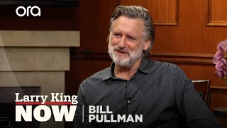 Bill Pullman keeps a picture of Bill Paxton in his workshop | Larry King Now | Ora.TV