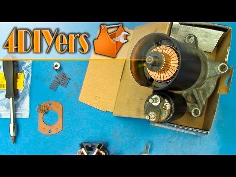 DIY: How to Rebuild a Starter Motor
