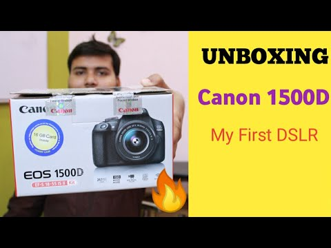 CANON EOS 1500D UNBOXING AND REVIEW || BEST DSLR UNDER 30000