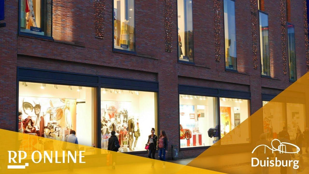 Weihnachtsbeleuchtung Forum.Duisburg Weihnachtsbeleuchtung Am Forum