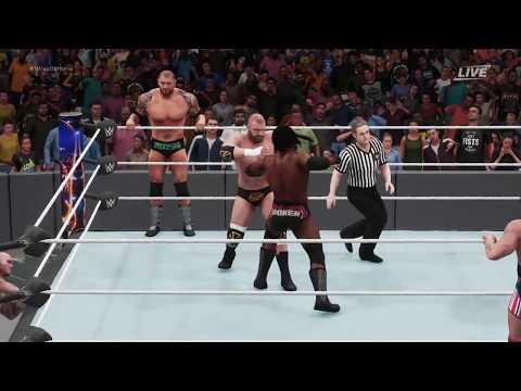 WWE 2K18 - EVOLUTION VS MAIN EVENT MAFIA FANTASY MATCH UP