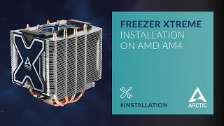 ARCTIC Freezer Xtreme on AMD AM4