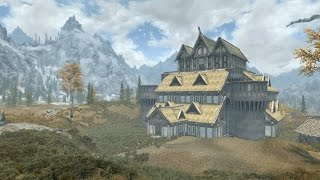 Skyrim PS4 Mods: Whiterun Manor (Player Home)