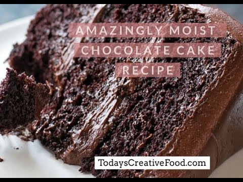 Amazing Moist Best Chocolate Cake Ever | 2 Minute Video