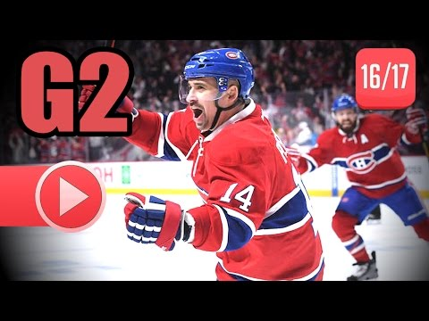 New York Rangers vs Montreal Canadiens. 2017 NHL Playoffs. Round 1. Game 2. April 14th, 2017. (HD)
