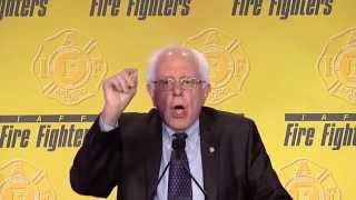 From youtube.com: Bernie Sanders: Religion of Billionaire Class Is Greed {MID-334319}