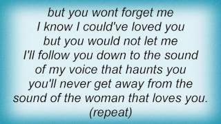 Stevie Nicks - Silver Springs Lyrics