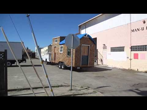Tiny House Departs Fabrication Site