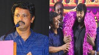 விஜய் சேதுபதி இல்லனா அவ்வளவுதான் | Director Cheran Emotional Speech | Thirumanam Press Meet