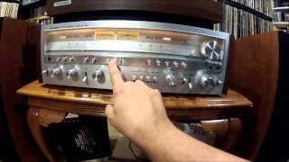 Vintage Pioneer stereo garage sale haul