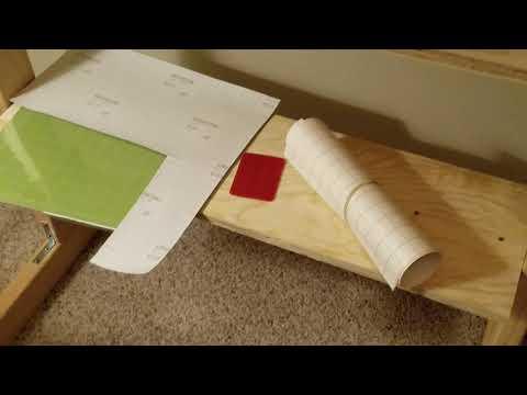 Wood DIY vinyl cutter stand