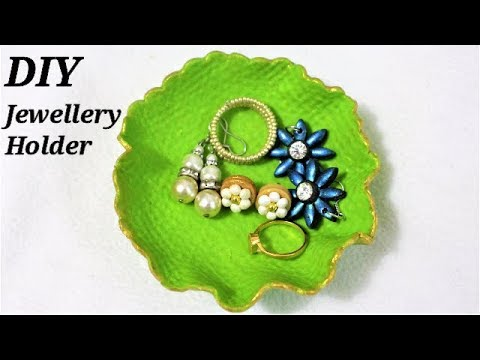 DIY  How To Make Polymer Clay Jewelry Holder