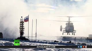 La Antártida a pie - Documental de RT