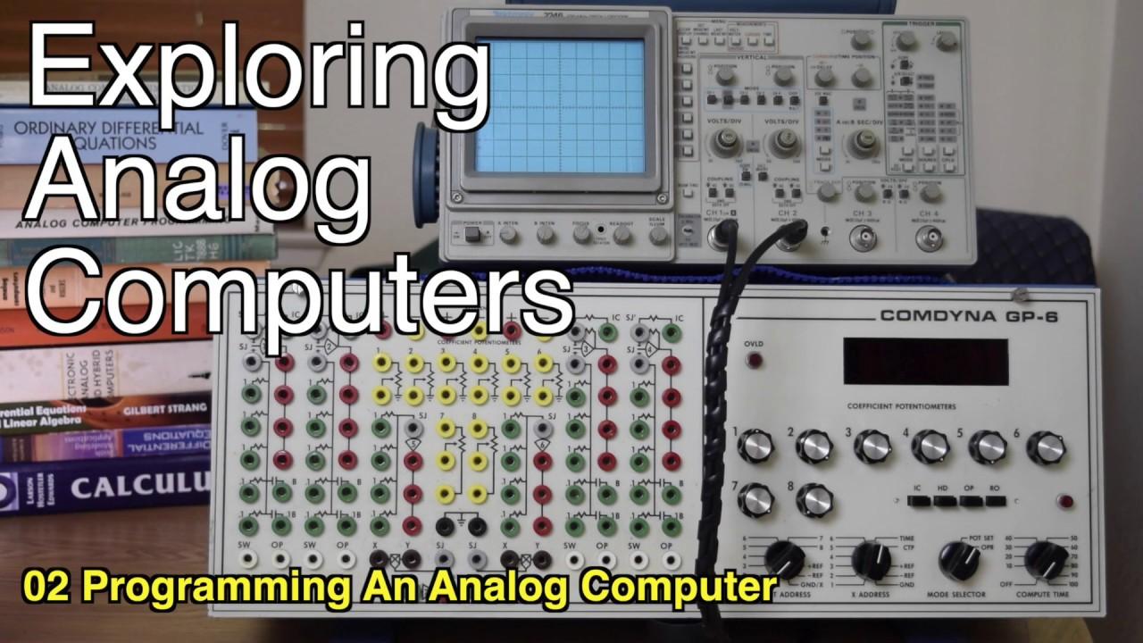 Programming an Analog Computer