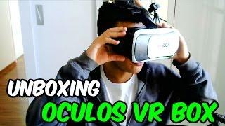 UNBOXING OCULOS VR BOX 2.0 - Realidade Virtual - Mercado Livre - PTBR