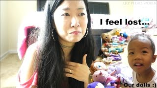 Half Black Kids' KOREAN MOM'S CONFESSION | Our Doll Collection | Life in USA Family vlog ep. 107