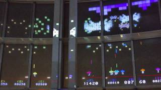 SPACE INVADERS GIGAMAX in Roppongi Hills