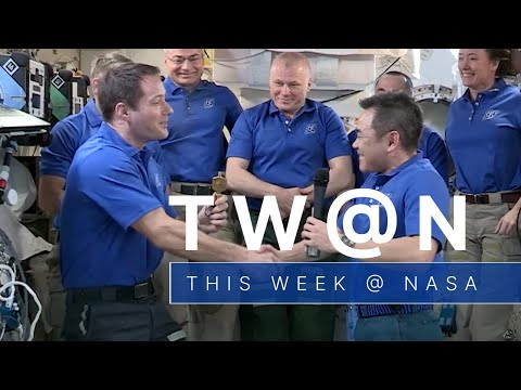 A Change of Command Aboard the Space Station on This Week @NASA  October 8, 2021