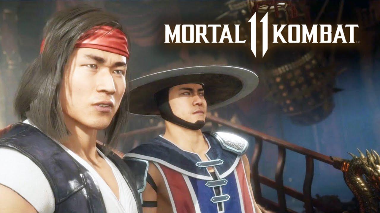 MORTAL KOMBAT 11 #3 - Liu Kang e Kung Lao | Campanha em Português PT-BR no PS4 Pro