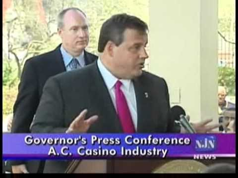 Governor Christie's Atlantic City Casino and Racetrack Press Conference - Part 3