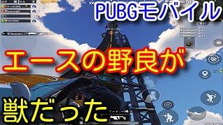 【PUBG MOBILE】最強の獣現る!エース先輩の怒涛のヘルプ!相変わらず野良スクアッドが平和すぎた【PUBGモバイル】【PUBG スマホ】