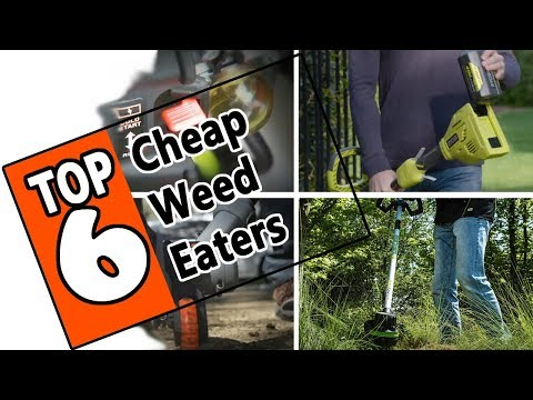 🌻 Best Cheap Weed Eater Under $200 - Review Of The 6 Best Priced String Trimmers
