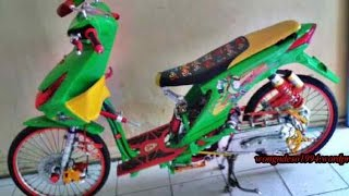 Motor Trend Modifikasi | Video Modifikasi Motor Honda Beat Look Drag Racing Style Terbaru