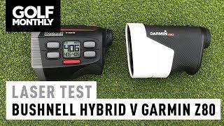 Bushnell Hybrid v Garmin Approach Z80 | Laser Test | Golf Monthly