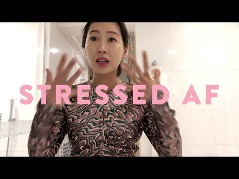 Stressed AF on Paris Fashion Week Day 4  Aimee Song