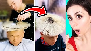 WEIRD HAIR TRANSFORMATIONS You Wont Believe !
