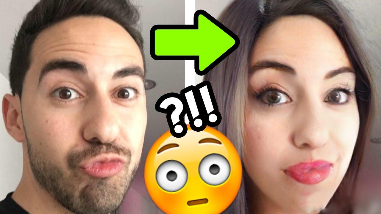 ¿COMO SERIAS CON EL SEXO OPUESTO? | FaceApp Challenge