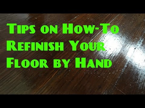 DIY Refinish Your Wood Floors by Hand