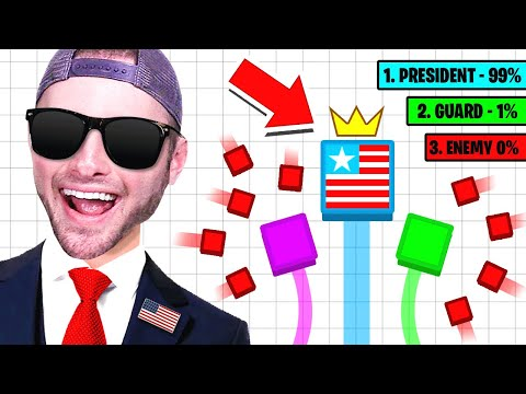 Who Will Be The PRESIDENT!? (Paper.io)