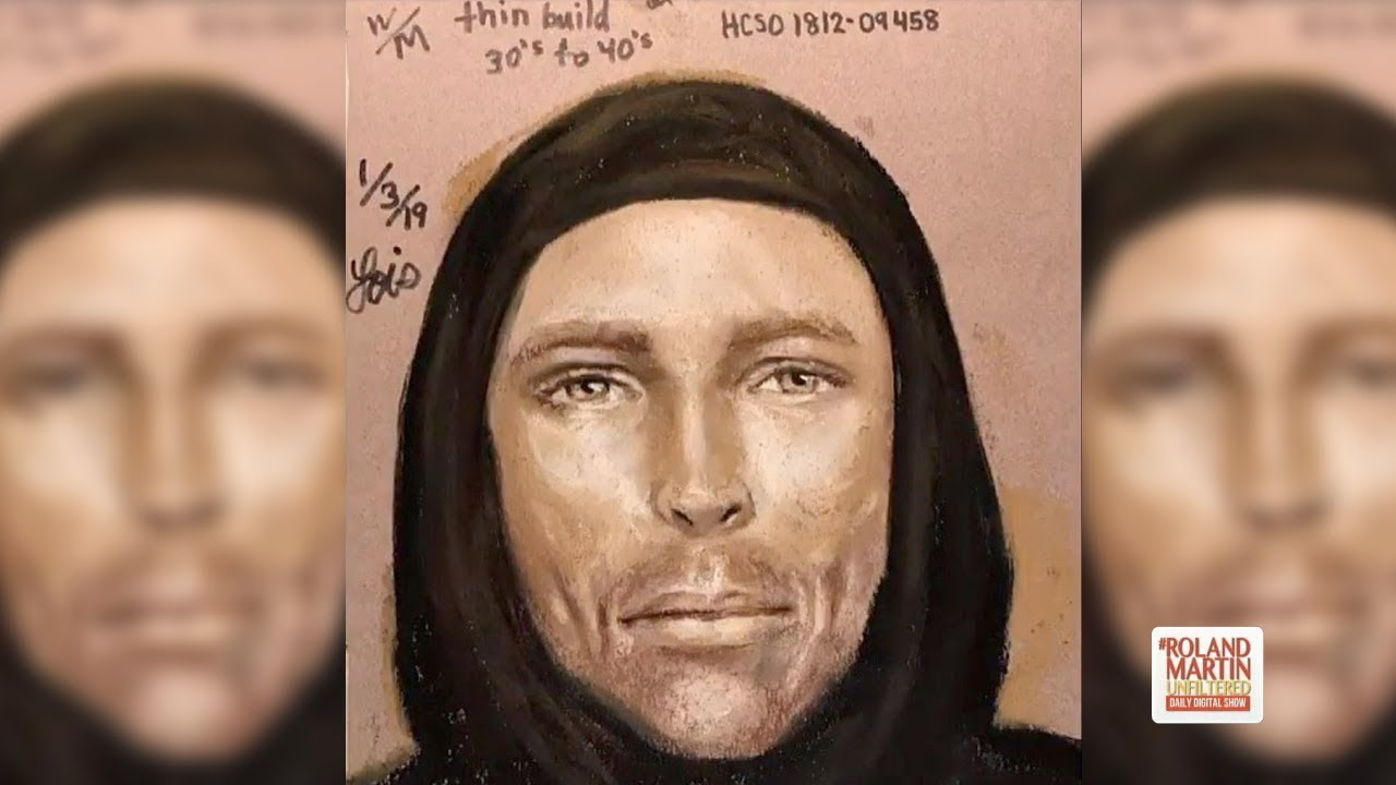 Sketch Could Lead To The Suspect Accused Of Shooting 7-Year-Old Jazmine Barnes