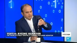 Test24: Aveine Aerator, the world's first digitally connected wine areator