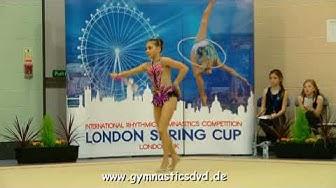 Sofia Malvina Amsler (SUI) - Junior 2005 05 - London Spring Cup 2018