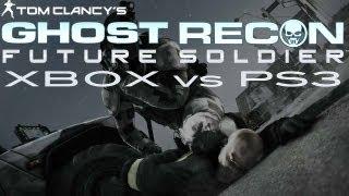 Ghost Recon: Future Soldier PS3 vs Xbox 360 Comparison