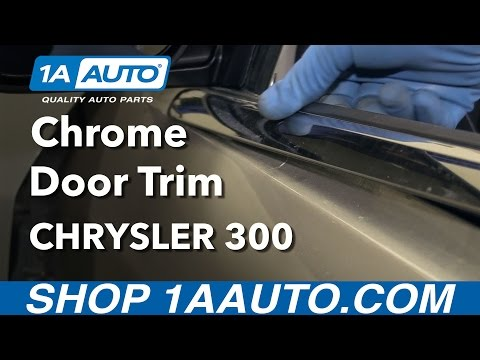 How to Replace Front Door Trim 05-10 Chrysler 300