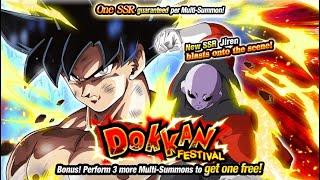 ULTRA INSTINCT GOKU & JIREN SUMMONING EVENT! Dragon Ball Z Dokkan Battle