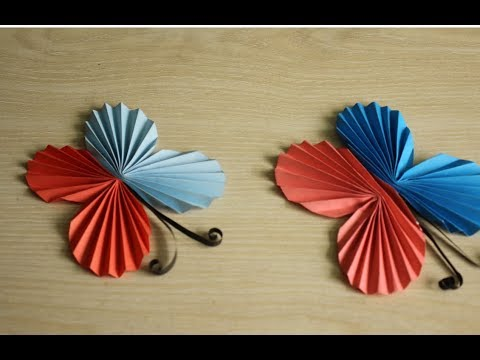 Paper Butterfly Tutorial | How to make Paper Butterfly easily | DIY Tutorial