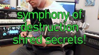 Megadeth Symphony of Destruction solo lesson Marty Friedman- Weekend Wankshop 186