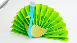 DIY paper crafts for kids | Paper toy Peacock